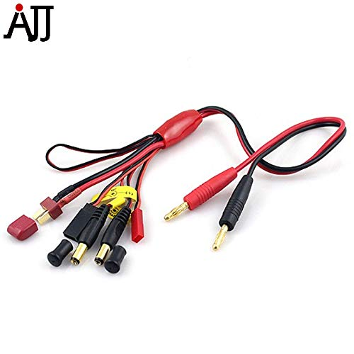 Part & Accessories 5 in 1 Battery Charging Harness Adapter Lead Line Cable for iMAX Bantam Balance Charger -