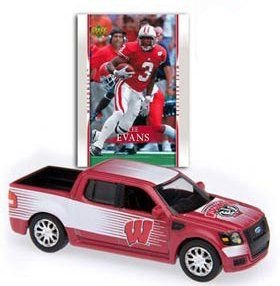 2007-08 University of Wisconsin Ford SVT Adrenalin Concept with Lee Evans Trading Card