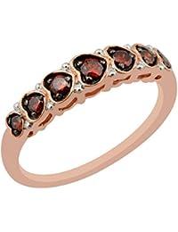 0.25 Carat Cognac Diamond Designer Anniversary Ring