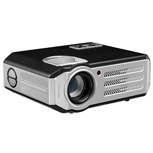 EGCLJ Mini Video Projector Multimedia Gaming Movie Home Theater Video Projector Compatible with HDMI/VGA/TF/AV/USB