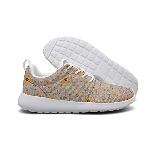 and Blue Mesh 1 Sunflower Jogging Flag Miniature Shoes Soft Lightweight Womens Hoohle Roshe Flex Bottle Painting Pirate Walking Sports PzXAnA