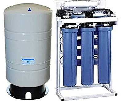 Oceanic Commercial Grade Reverse Osmosis Water Filtration System | 800 GPD, Dual Booster Pumps, 20 Gallon Tank