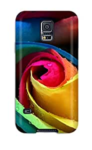 Crystle Marion's Shop Best New Design Shatterproof Case For Galaxy S5 (colorful Rose)