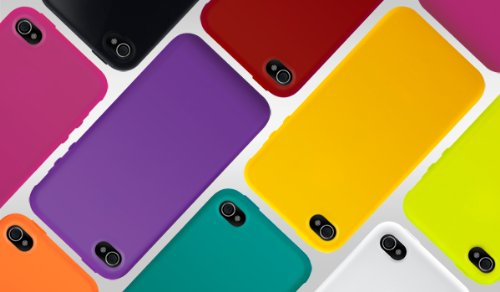 SwitchEasy Colors Silicone Case for iPhone 4 & 4S - Viola