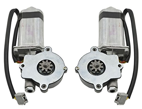 1979-1993 Mustang Front Door Power Window Motors - Left & Right Pair