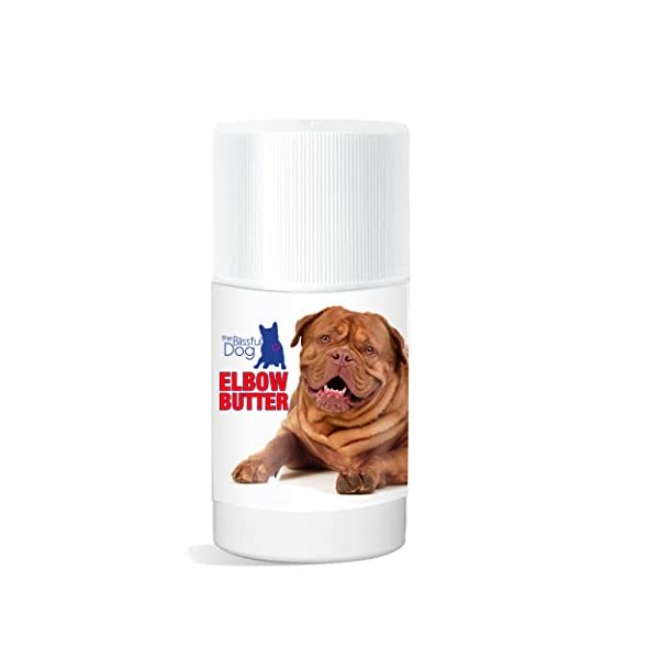 The Blissful Dog Elbow Butter Moisturizes Your Dog's Elbow Calluses – Dog Balm, 3-Ounce