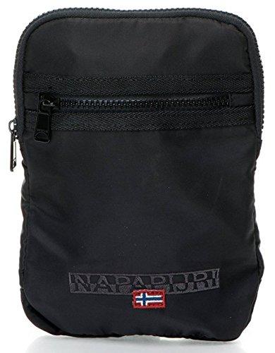 Borsello Tracolla Uomo Nero Napapijri Bag Men Black File Small Flat Corossover N6P19