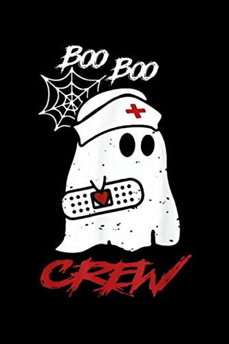 The Chew Costumes (Boo boo crew: boo boo crew nurse ghost t shirt halloween costume gift Journal/ Notebook Blank Lined Ruled 6''x9'' 120)