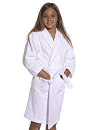Terry Cotton Hooded Kid's Robe