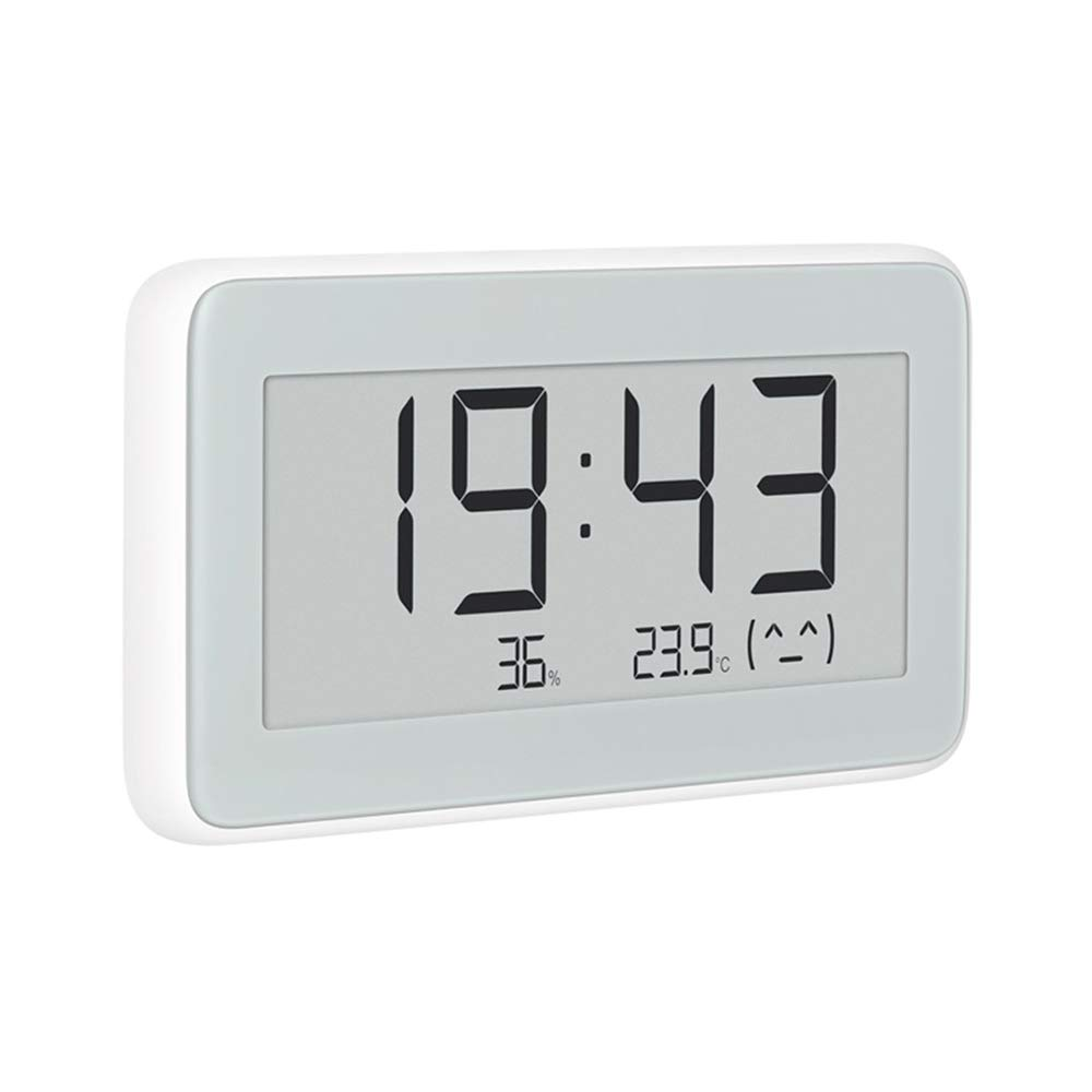 MIJIA Bluetooth Thermometer, Temperature Humidity Monitoring Ink Screen Electronic Watch