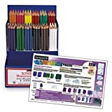 Nasco General's Fun with Watercolor Pencils Kit - Arts & Crafts Materials - 9736484
