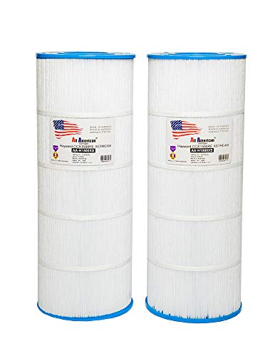 (2 PACK Hayward CCX1500XRE Xstream CC1500RE CC-1500 Xstream ALL AMERICAN CARTRIDGES 8021 Unicel C-8316 Pleatco PXST150 Aladdin 25014 Filbur FC-1286 Replacement Pool Filter Cartridge)