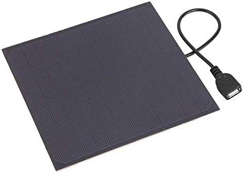 Dgtrhted Hohe Qualität 4.5W 6V Monokristalline Silizium Solar Panel Ladegerät mit USB-Ausgang Schnittstelle