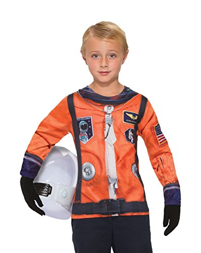 Forum Novelties Kids Astronaut Costume, Multicolor, Small (Easy Kids Costumes)