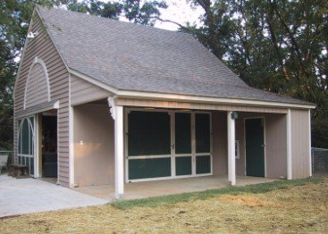 Sixteen small pole barn workshop and one two or three for Small garage plans free