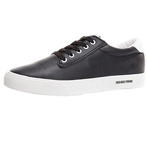 scarpe da coreane Espadrillas basse Scarpe Color ginnastica scarpe Gray uomo da da Black uomo Scarpe di YaNanHome Size tela 40 P76qxgw4qC