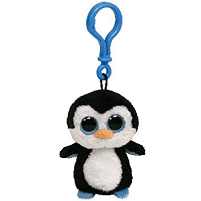 Ty Beanie Boo Waddles the Penguin - Clip On: Toys & Games