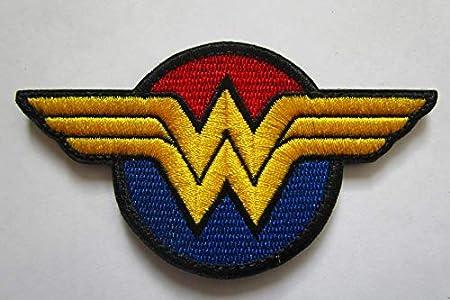 DC Comics Superheroine Wonder Woman Parche Militar Bordado ...