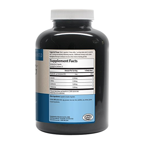 MRM - BCAA+G 6000, Ultimate Muscle Post-Workout Recovery Formula , Supports Muscle Size & Strength, Recovery, Reduces Fatigue & Muscle Soreness (150 Capsules) by MRM (Image #1)
