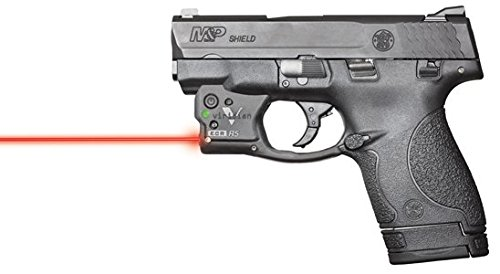 Viridian Reactor 5 - Red Laser Sight Pistol Handgun, Tactical Red Laser, ECR Instant On Technology Holster