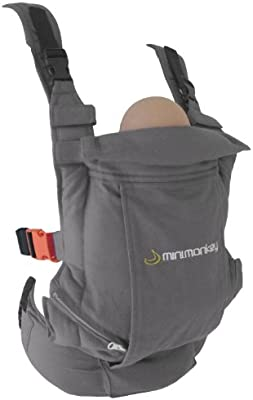 Minimonkey Messenger Bag gris
