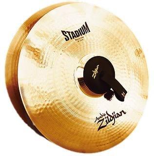 Zildjian A0468 16-Inch Orchestral Cymbals Stadium Series Medium Pair by Avedis Zildjian Company