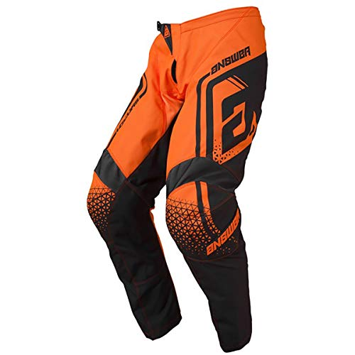Answer Racing A19 Syncron Drift Men's Off-Road Motorcycle Pants - Flo Orange/Charcoal / 36 36 Off Road Pants