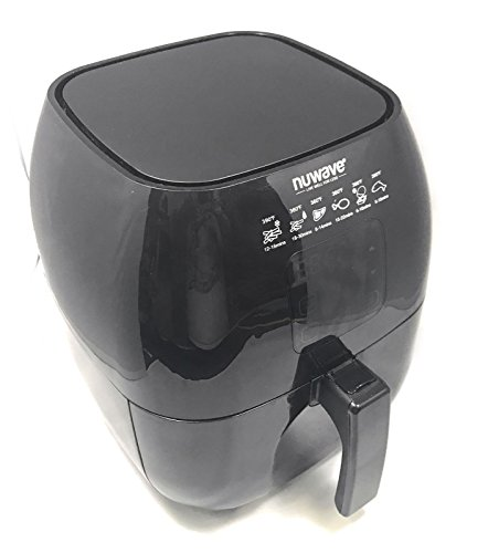 Nuwave - Brio Digital Air Fryer - 3 Quart Capacity - Reversible Rack, Baking Pan, & Recipe Book Included