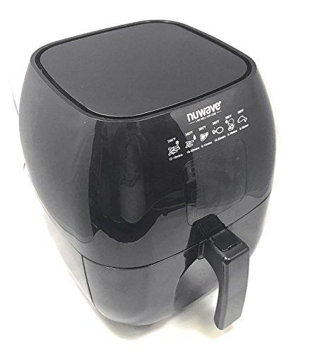 Nuwave – Brio Digital Air Fryer – 3 Quart Capacity – Reversible Rack, Baking Pan, & Recipe Book Included For Sale