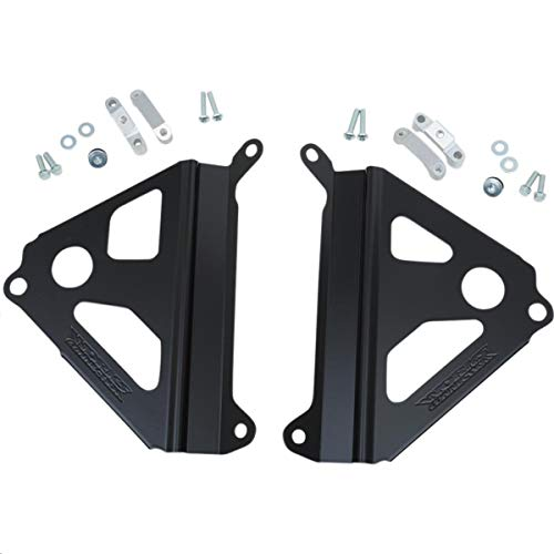 Radiator Braces - Works CONNECTION RADIATOR BRACES BLK YZ250F_18-B280
