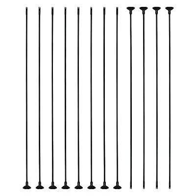 "Sinoart 30"" Fiberglass Archery Suction Pad Arrows for Kids Practice Archery"
