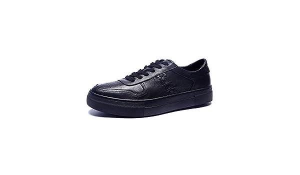 zapatos de moda casual de los hombres/Caída hombre suela gruesa mocasines-A Longitud del pie=24.3CM(9.6Inch)