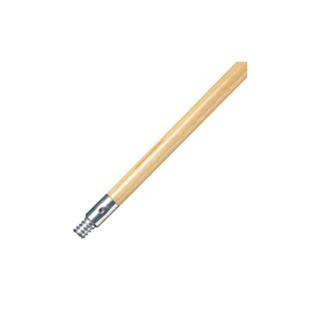 Abco 60'' X 1 1/8'' Metal Threaded Wood Handle 6/Pkg JW-01123