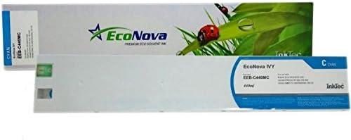 sc Ivy eeb-c440mc Eco-solvente ECONOVA Cyan 440 ML, Cartucho ...