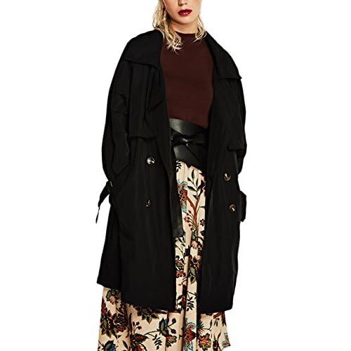 Les Femmes Plus Longtemps Impers Mince Manteau Jacket