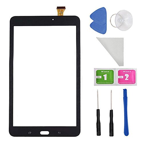 Black Touch Screen Digitizer For Samsung Galaxy Tab E 8.0 SM-T377 T377A T377V(Not include LCD) + Tools by first choose
