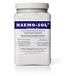 Haemo-Sol 027-055CS Enzymatic Detergent, 5 lb Jars (Case of 6)