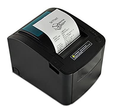 thermal receipt printer 80mm paper 300mmsec print speed serial usb ethernet