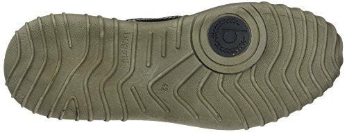 Bugatti K273653, Zapatillas Altas para Hombre Negro (schwarz 100Schwarz 100)