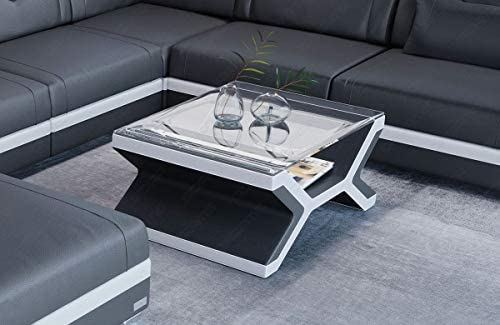 Bestellen Sofa Dreams Designer salontafel Napoli leer NV3s5bh