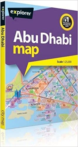 Abu Dhabi Explorer Map: Amazon.co.uk: Explorer Publishing ...