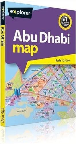 Abu Dhabi City Map 1:25 000: Amazon.de: Explorer Publishing ...