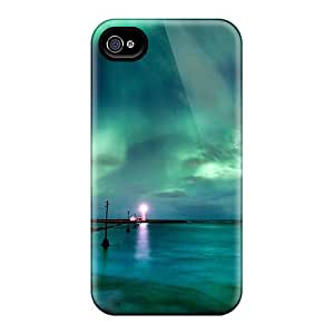 New Arrival Iphone 4/4s Case Aaurora Borealis Case Cover