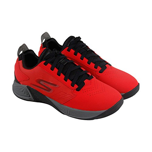 Skechers Gobasketball Torch 2 Hommes Chaussures De Sport Synthétiques Rouges