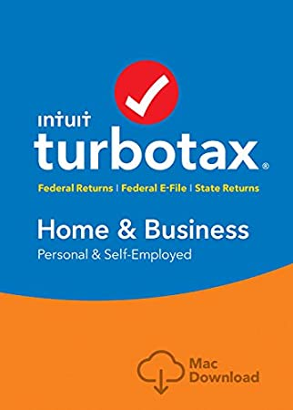 TurboTax Home & Business Tax Software 2017 Fed+Efile+State MAC Download [Amazon Exclusive]