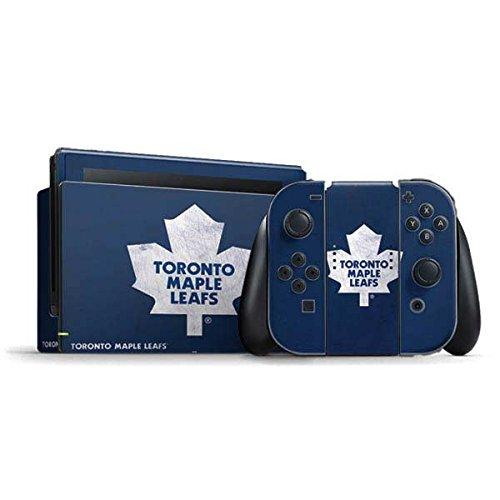 Toronto Maple Leafs Nintendo Switch Bundle Skin - Toronto Maple Leafs Distressed | NHL & Skinit Skin (Package Of Leaves)
