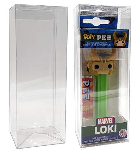MALKO Pop Pez Dispenser Box Protector Display Case (10 Count) ()