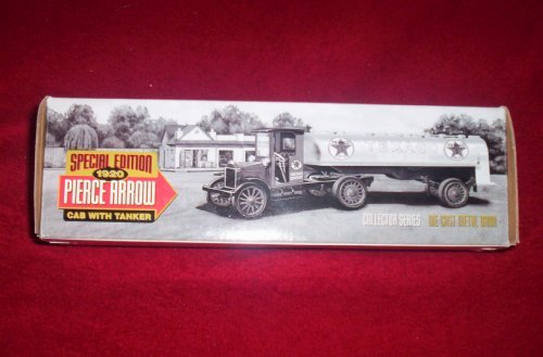 SPECIAL EDITION 1920 PIERCE ARROW CAB WITH TANKER COLLECTOR SERIES DIE CAST METAL BANK by Ertl -