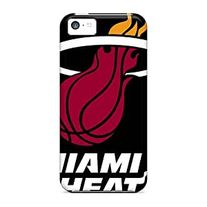 New Miami Heat Logo Tpu Skin Cases Compatible With Iphone 5c