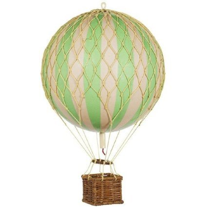 Hot Air Balloon Replica - Authentic Models Floating in the Air - Color: True Green (Hot Model compare prices)